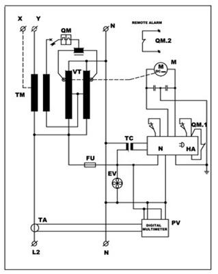 Электрическая схема ANTARES
