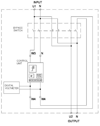 Схема стабилизатора напряжения GEMINI